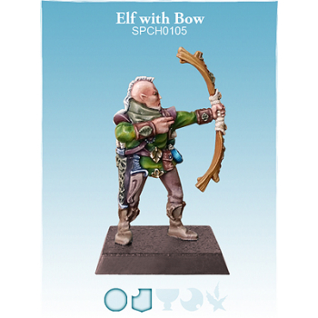 Elf with Bow - (G) (L)